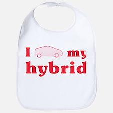 I Love My Hybrid Baby Bib