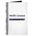 Worlds Greatest OCEANOGRAPHIST Journal