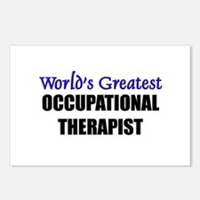 Worlds Greatest OCCUPATIONAL THERAPIST Postcards (