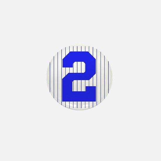 PINSTRIPES #2 Mini Button