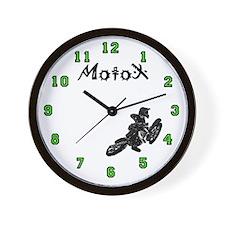 Kawasaki Motocross clock Wall Clock
