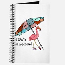 Cute Flamingo Journal