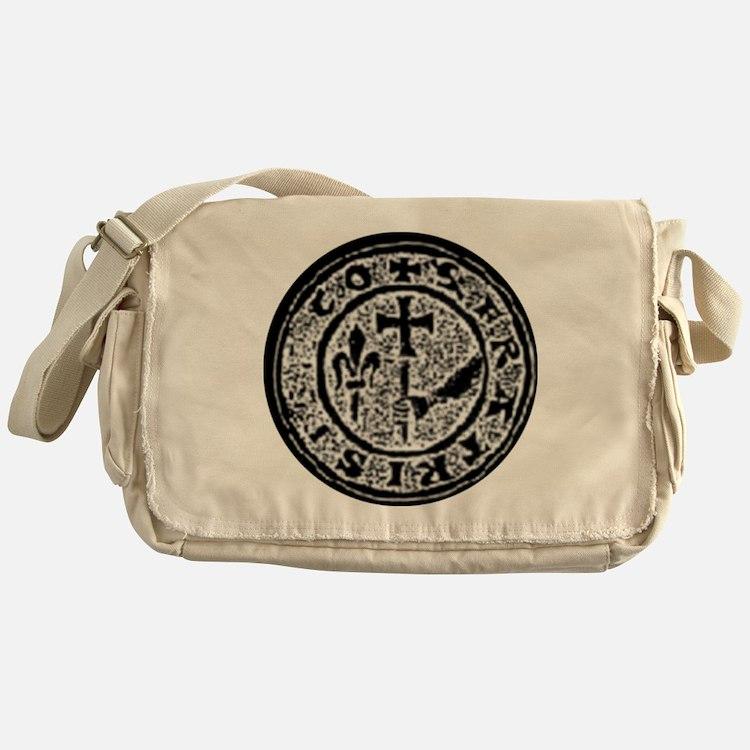 Knights Templar Seal #2 Messenger Bag