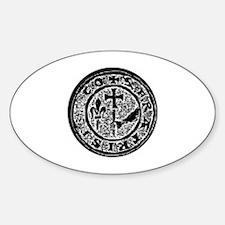 Knights Templar Seal #2 Decal