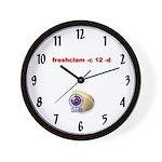 ClamAV Wall Clock