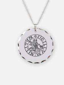 Knights Templar Seal #3 Necklace