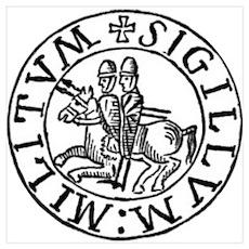 Knights Templar Seal #3 Poster