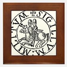 Knights Templar Seal #3 Framed Tile