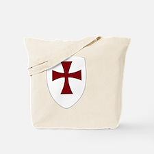 Knights Templar Shield Tote Bag