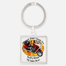 Victory Vision Square Keychain