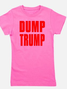 DUMP TRUMP Girl's Tee