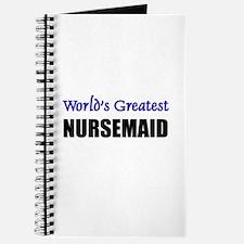 Worlds Greatest NURSEMAID Journal
