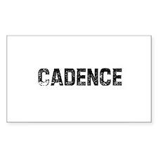 Cadence Rectangle Decal