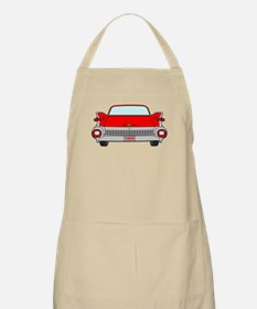 1959 Fins Red Apron