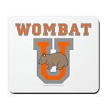 Wombat U III Mousepad