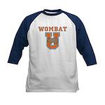 Wombat U III Kids Baseball Jersey