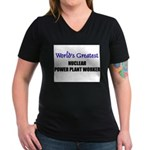 Worlds Greatest NUCLEAR POWER PLANT WORKER Women's
