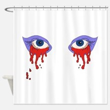 Bloody Eyes Shower Curtain