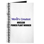 Worlds Greatest NUCLEAR POWER PLANT WORKER Journal