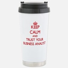 Funny Keep calm and party on Travel Mug