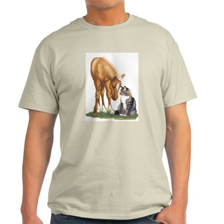 Mini Horse and Cat Light T-Shirt