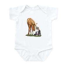 Mini Horse and Cat Infant Bodysuit