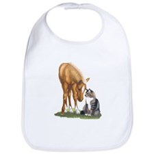 Mini Horse and Cat Bib