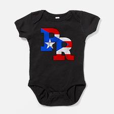 Unique Puerto rico Baby Bodysuit