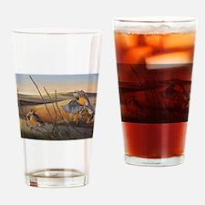 Susan Rose's Flight of Gold Drinking Glass