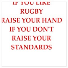 rugby joke Poster