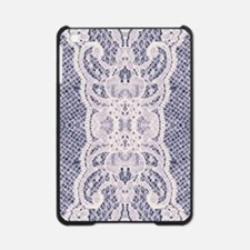 Country chic blue denim lace iPad Mini Case