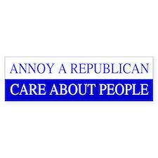 Annoy A Republican Bumper Bumper Sticker