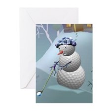 Unique Funny golfing Greeting Cards (Pk of 20)