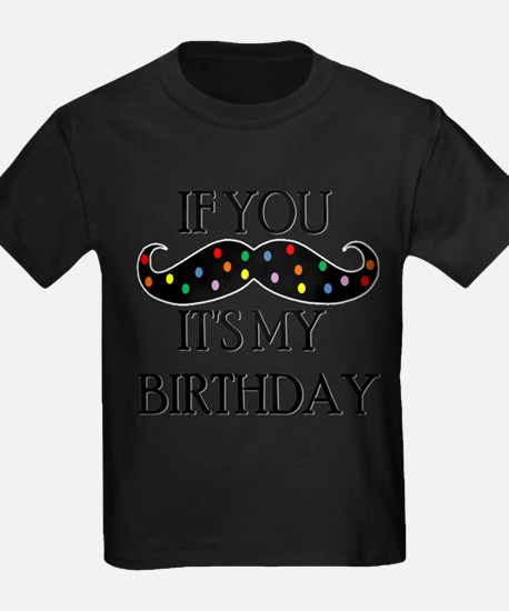Cute Funny kids mustaches T