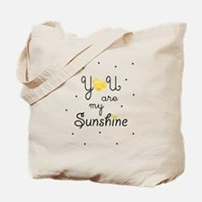 You are my sunshine - gold Tote Bag