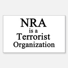 Unique Nra Sticker (Rectangle)