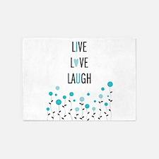 Live Love Laugh 5'x7'Area Rug
