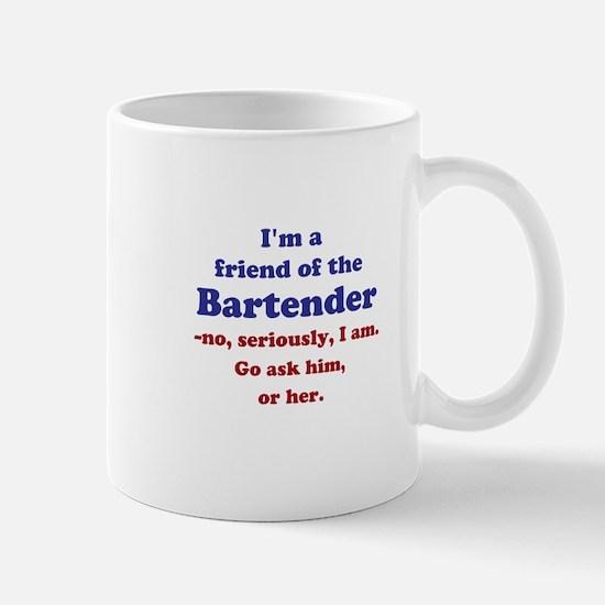 Bartenders Friend Mugs