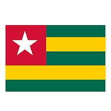 Togo Flag Postcards (Package of 8)