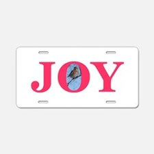Joy Aluminum License Plate