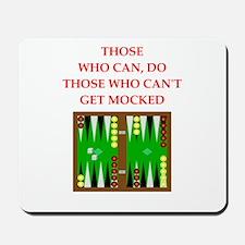 backgammon Mousepad
