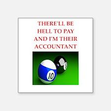 billiards joke Sticker
