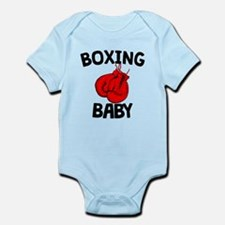 Boxing Baby Body Suit