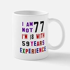 77 Birthday Designs Mug
