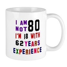 80 Birthday Designs Mug