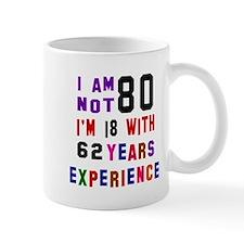 80 Birthday Designs Small Mug