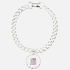 90 Birthday Designs Bracelet