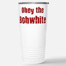 Cute Bobwhite Travel Mug