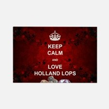 Keep Calm Holland Lop Magnets