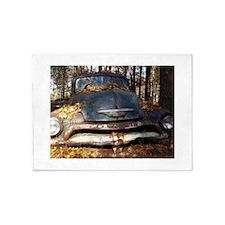 Sad Old Blue Chevy 5'x7'Area Rug